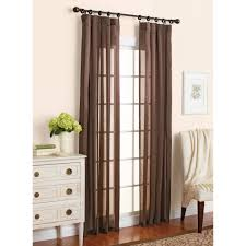better homes u0026gardens satin stripe 38x84 chocolate walmart com