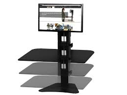 Stand Or Sit Desk by Victor Dc300 High Rise Sit Stand Desk Converter Victor