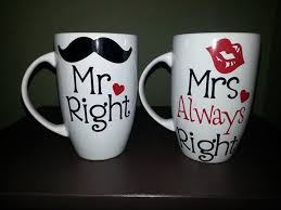 his mugs mr right mrs always right coffee mug set mr and mrs mugs mr