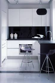 modern black and white kitchens cheap apartment kitchen remodel outofhome