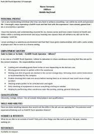 Certified Forklift Operator Resume Download Forklift Operator Resume Haadyaooverbayresort Com