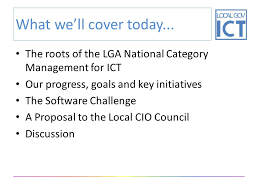 Edinburgh Council Procurement Strategy Collaborative Category Management For Ict In Local Government