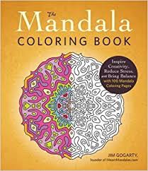 mandala coloring book inspire creativity reduce stress