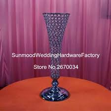 Tall Metal Vases For Wedding Centerpieces by Popular Crystal Vase Centerpieces Buy Cheap Crystal Vase