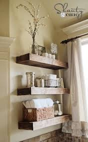 How To Make Floating Shelves by Easy Diy Floating Shelves Shanty 2 Chic