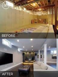 basement makeovers before and after home desain 2018