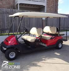club car precedent stretch golf cart golf cart zone of austin