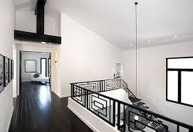 white interiors homes stylish home black and white interiors