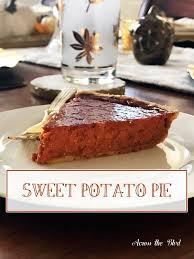 sweet potato pie favorite family recipe across the boulevard