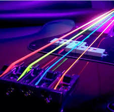 girly guitar wallpaper neon image 1914420 by marky on favim com