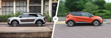 renault captur 2019 citroen cactus vs renault captur crossover clash carwow