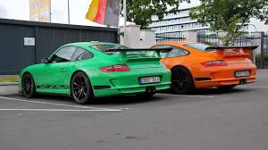 2011 porsche gt3 rs for sale 2x porsche 997 gt3 rs green or orange