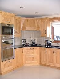 Wood Kitchen Cabinets Stainless Sink Ash Wood Kitchen Cabinets Beech Wood Kitchen