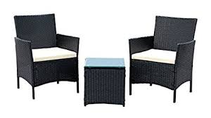 amazon com ids home 3 piece compact outdoor indoor garden patio