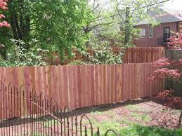 familiar brown teak garden fences ideas suited for iron frontyard