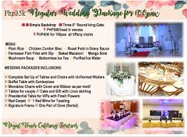 affordable wedding catering wedding packages royal touch catering services