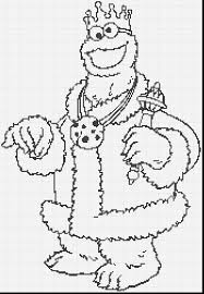 spectacular baby cookie monster coloring pages with cookie monster