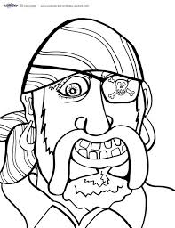 coloring print printable pirate coloring pages new in set gallery