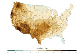 Dry Counties In Usa Map by Agriculture National Climate Assessment
