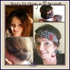 hippy headband hippie headband up do marci yoseph