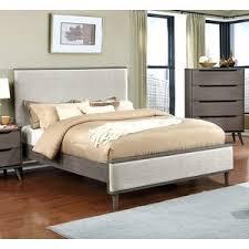 modern gray wood beds allmodern