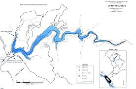 Ohio Map by Lake Vesuvius Fishing Map Southeast Ohio Go Fish Ohio
