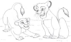 lion king coloring pages mufasa simba eliolera