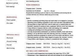 Warehouse Job Resume Sample by Resume Samples Forklift Driver Resume Forklift Operator