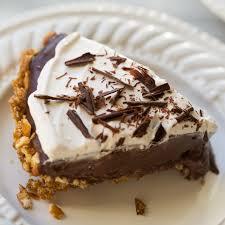 dairy free thanksgiving dessert gluten free vegan chocolate pudding pretzel pie meaningful eats