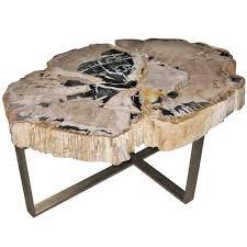 bernhardt petrified wood side table petrified wood table side bernhardt golfocd com