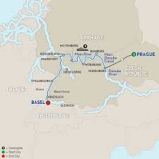 Wurzburg Germany Map by Basel River Cruise Avalon Waterways