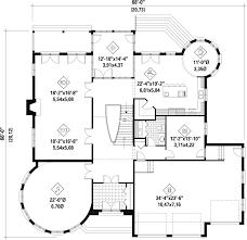 european style house plan 5 beds 3 00 baths 5609 sq ft plan 25 4690