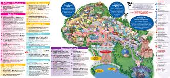 Epcot Center Map Walt Disney World The Itinerary And Worksheets