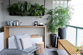 long console table balcony modern with condo contemporary outdoor
