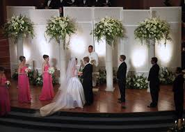 Backdrops For Weddings Perfect Backdrop For A Perfect Day Wedding Flowers Gallery