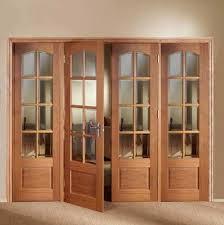 Wooden Bifold Doors Interior Appealing Oak Bi Folding Doors Images Best Interior