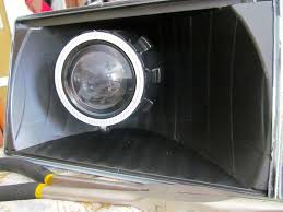 the retrofit source black friday fox projector upgrade complete with lights from the retrofit