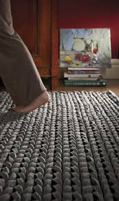Thick Pile Rug Review Of Urbane Grey Thick Pile Braided Rug By Rugguru The Rug