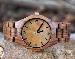 unique engraved gifts engraved wooden watches unique personalized by nextlevelengraving