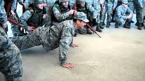 air force ots push ups part 2 youtube