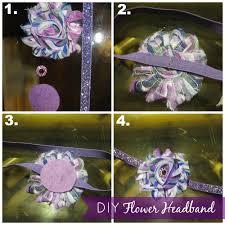 flower headbands diy diy flower headband tutorial livin the