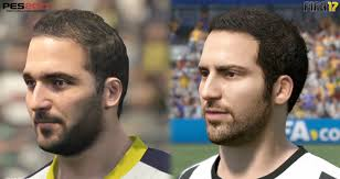 fifa 14 all hairstyles fifa 17 vs pes 17 juventus all player faces comparison xbox one