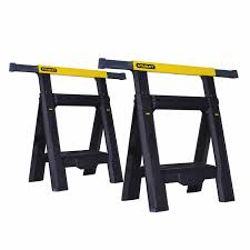Woodworking Bench For Sale South Africa by Sawhorse Folding Adjustable Workbench Stanley Tools