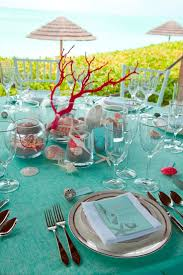 Bridal Shower Table Decorations by Wedding Tables Beach Bridal Shower Table Decorations Beach