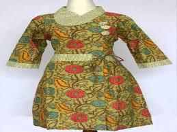 Baju Batik Batik model baju batik dress pendek terpopuler saat ini