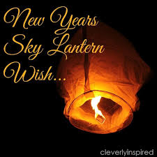 lantern new year make a wish lantern on new year s cleverly inspired
