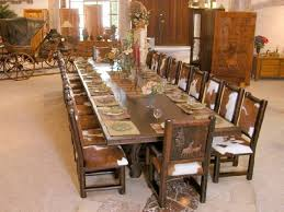 Long Dinner Table Comfortable  Long Dining Room Tables - Long dining room table