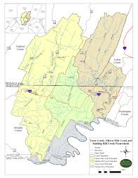 Map Of Counties In Pa Western Pennsylvania Conservancy Watershed Conservation Plans