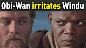 Mace Windu Meme - mace windu kicks obi wan out of jedi council youtube