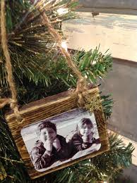 Christmas Decoration Crafts Homemade Wood Scrap Photo Ornaments Hometalk